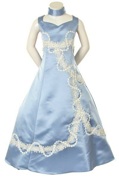 Graduation Pageant Flower Girl Party Wedding Formal Dress Size 6 8
