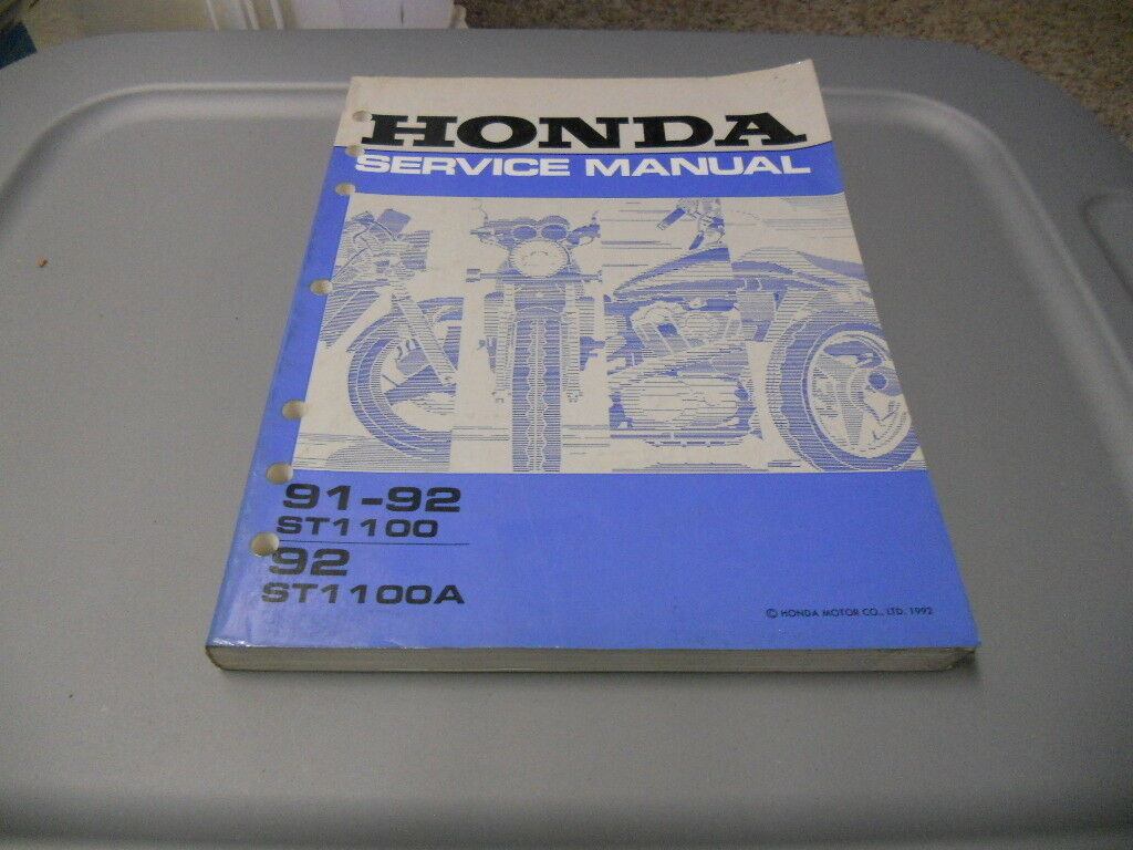 Honda Factory Service Repair Shop Manual 91 92 St1100 St1100a Accord Electrical Troubleshootin G Wiring Diagram Oem A 1 Of 1only 3 Available