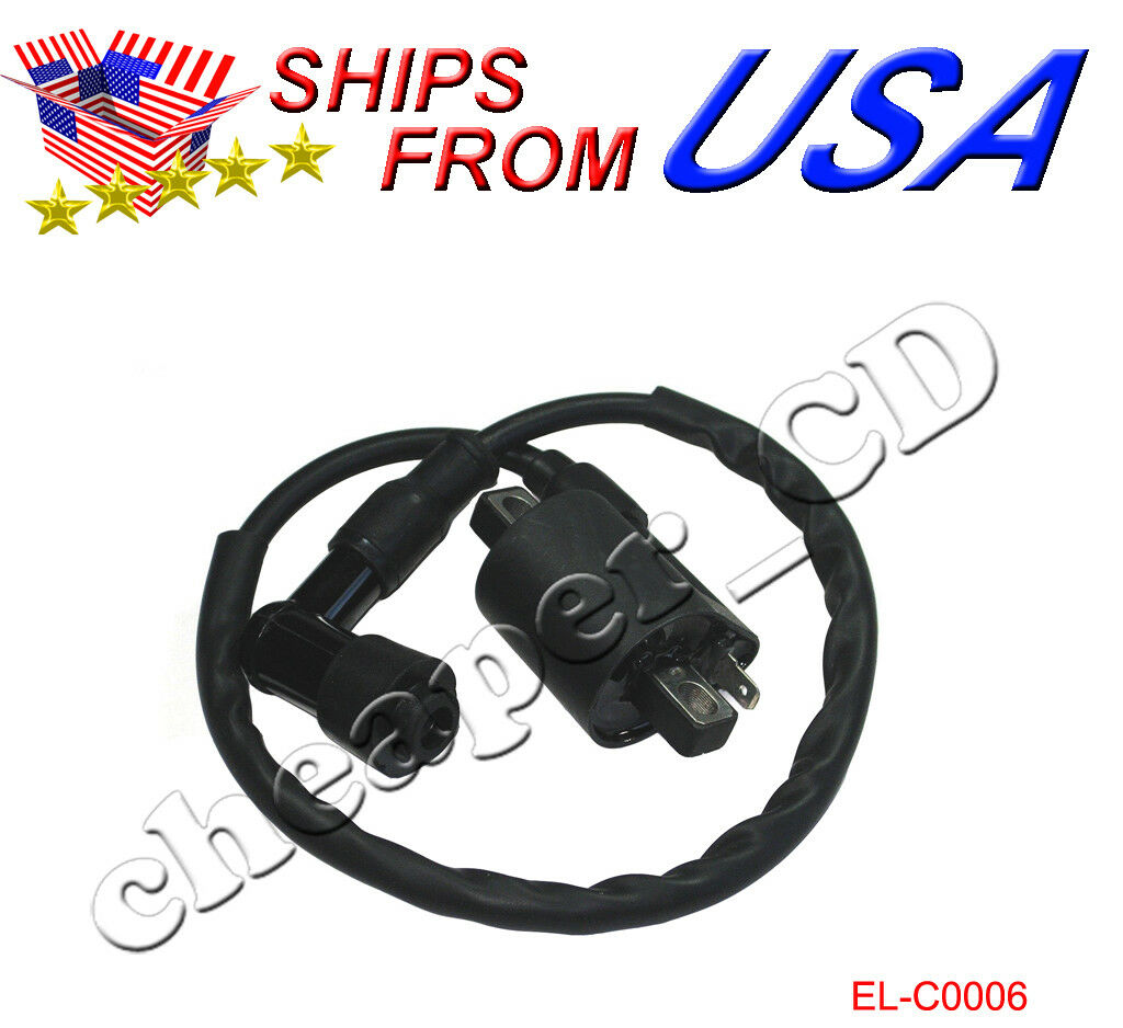 Ignition Coil Atv Moped Go Kart 150 200 250cc Dirt Bike Chinese Sunl Roketa Wiring Harness 1 Of 2free Shipping