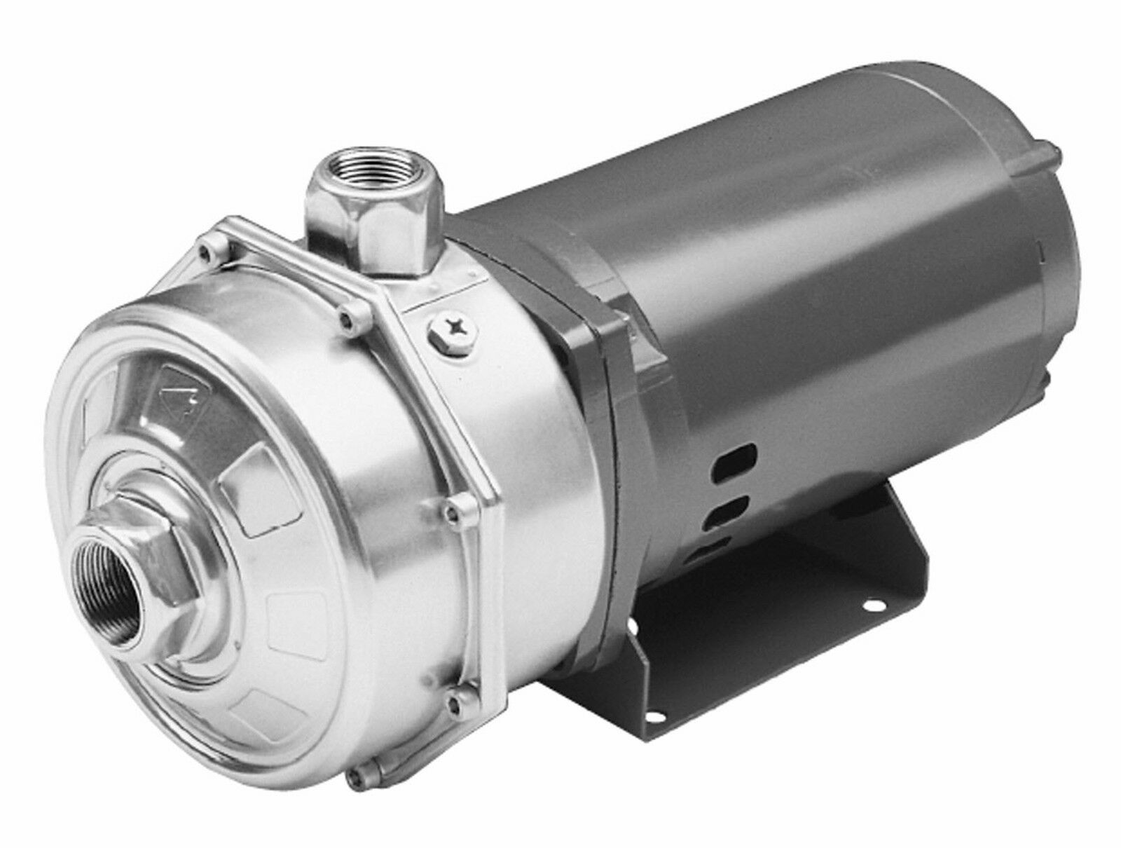 Stainless Water Pump : Goulds water technology lcb h d stainless steel multi