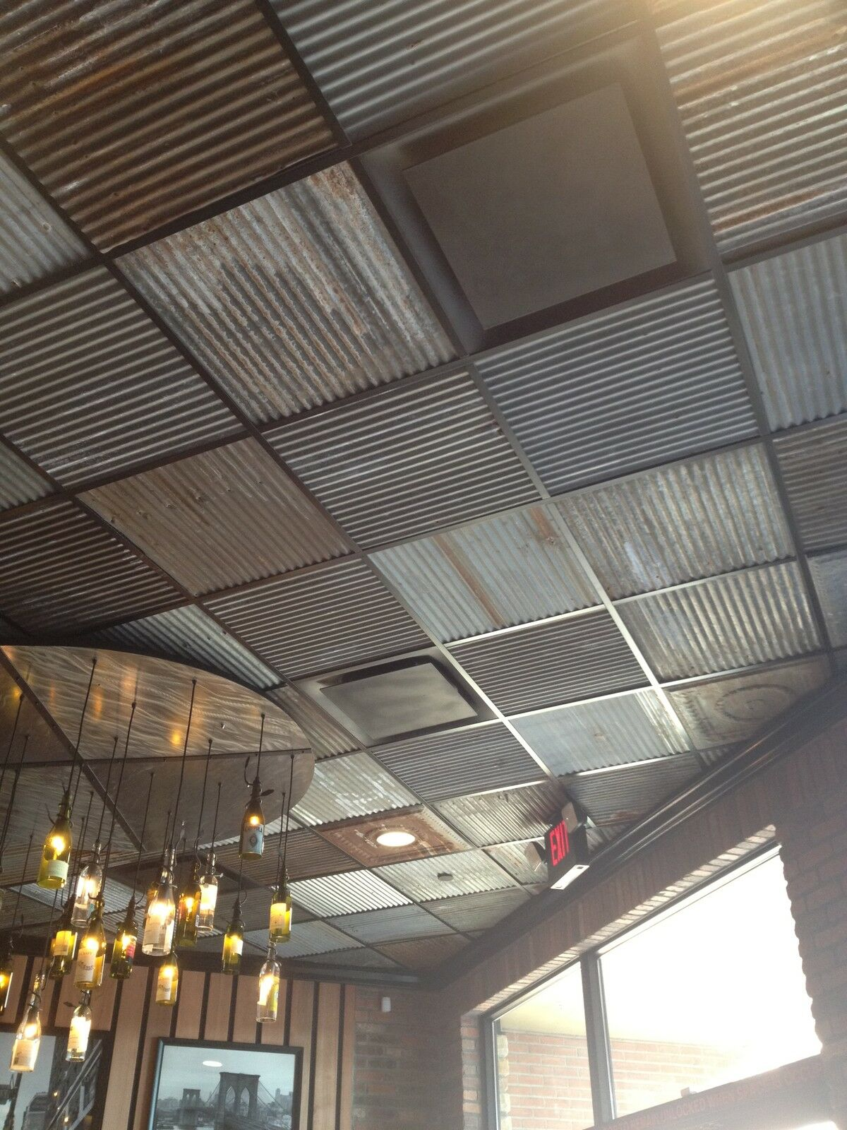 reclaimed rustic metal roofing corrugated panels