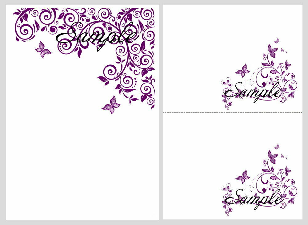 Wedding invitation wording printable butterfly wedding for Free printable wedding invitation templates
