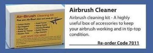 Albion Alloys 7011 - Airbrush Cleaning Kit - Tracked 48 Post