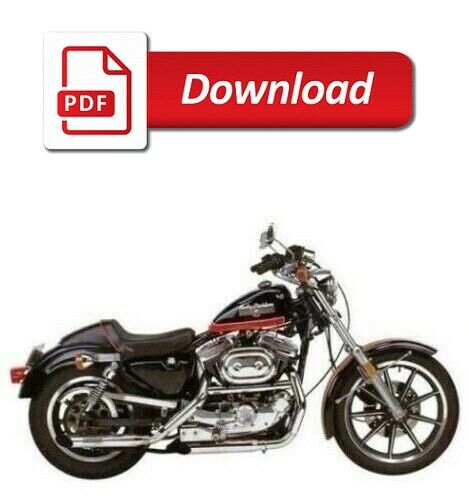 1991 1992 1993 harley davidson sportster shop repair manual on cd rh picclick com Tampa Harley-Davidson Harley Sportster XL1200C 2005 White 2005 XL1200C