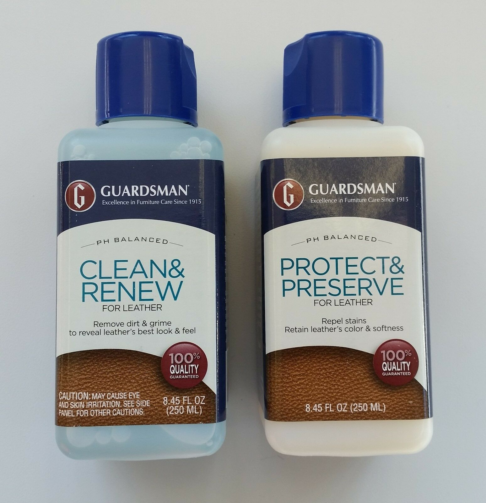 guardsman leather cleaner or protector 8 45 oz 11 99 picclick