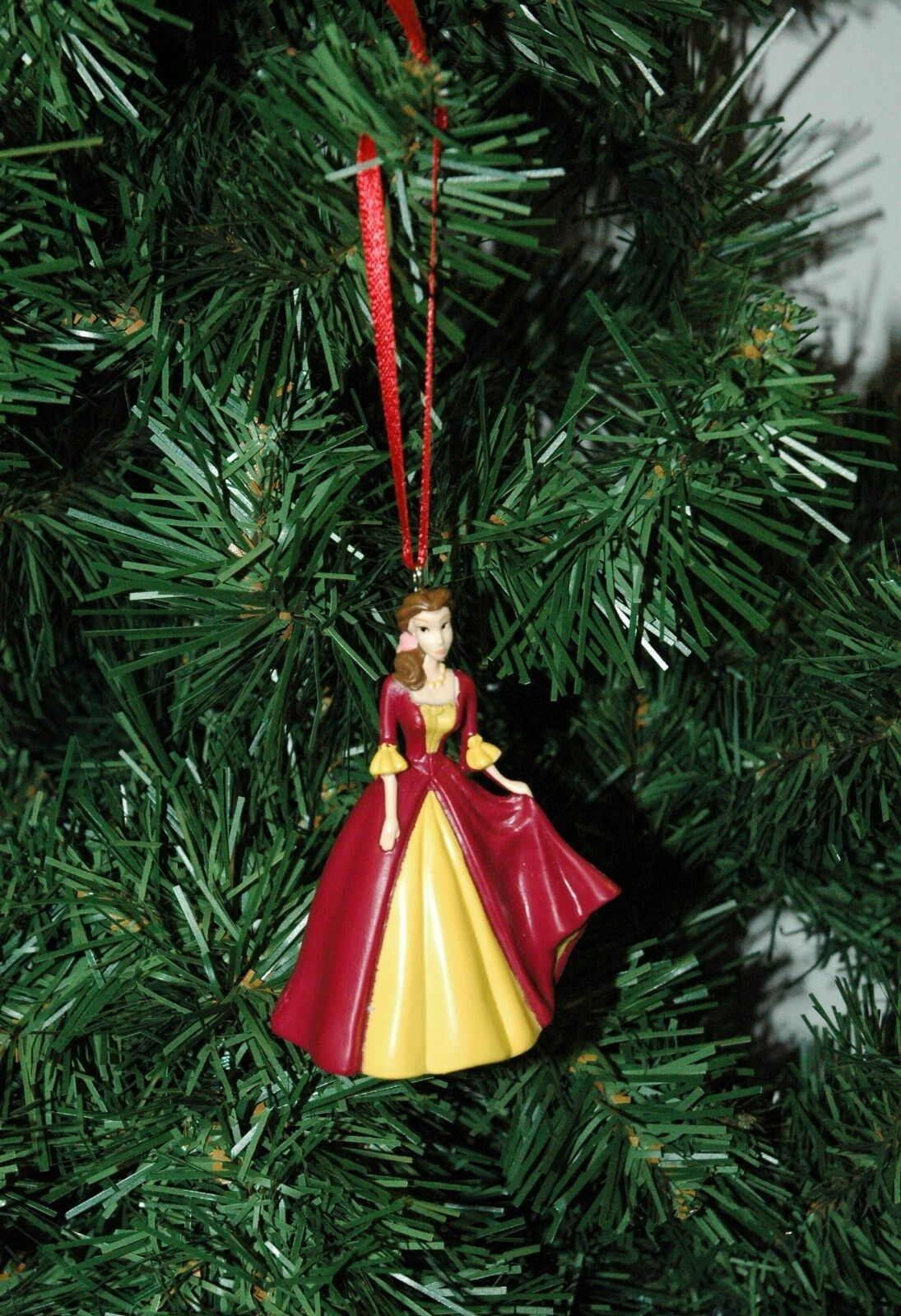 belle beauty and the beast christmas ornament