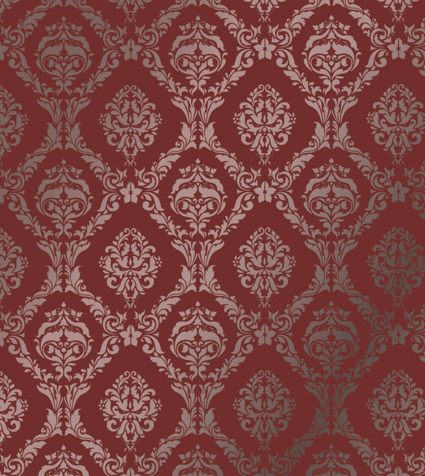 Large wall damask mylar stencil pattern faux mural decor 1007 choose size picclick - Design patterns wall painting ...