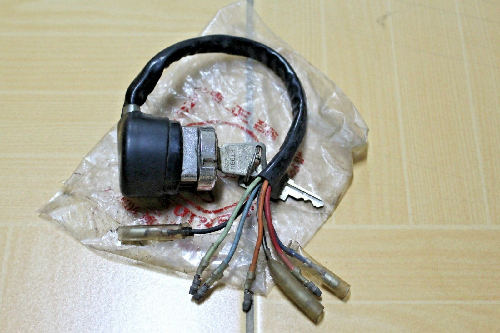 Honda 90cc Early Model Cs90 S90 Sport Ignition Switch Nos 7 Wires Wiring 1 Of 1only Available