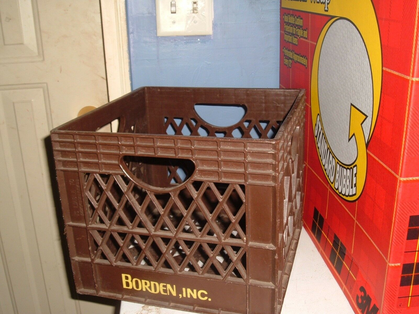 Borden Dairy Milk Crate Container Plastic Storage 1 Of 2Only 1 Available ...