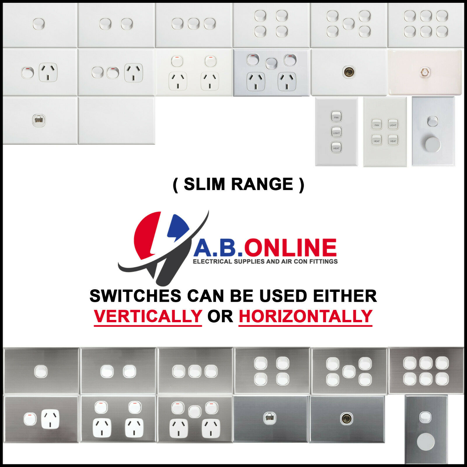 aus 240v 10a gpo double power point wall socket 2x usb charg