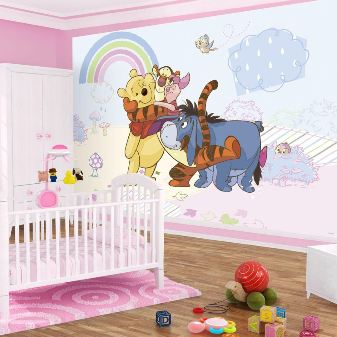 fototapete fototapeten tapete tapeten kinder disney winnie the pooh 3fx315p8 eur 39 90. Black Bedroom Furniture Sets. Home Design Ideas