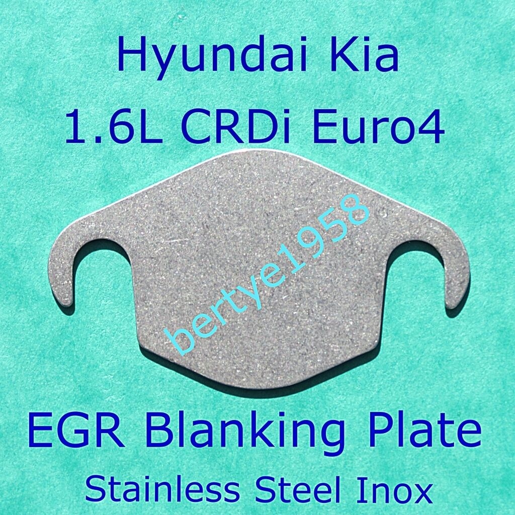 egr valve blanking plate hyundai kia 1 6 crdi euro4 i20 i30 d4fb engine u1 cee 39 d chf. Black Bedroom Furniture Sets. Home Design Ideas
