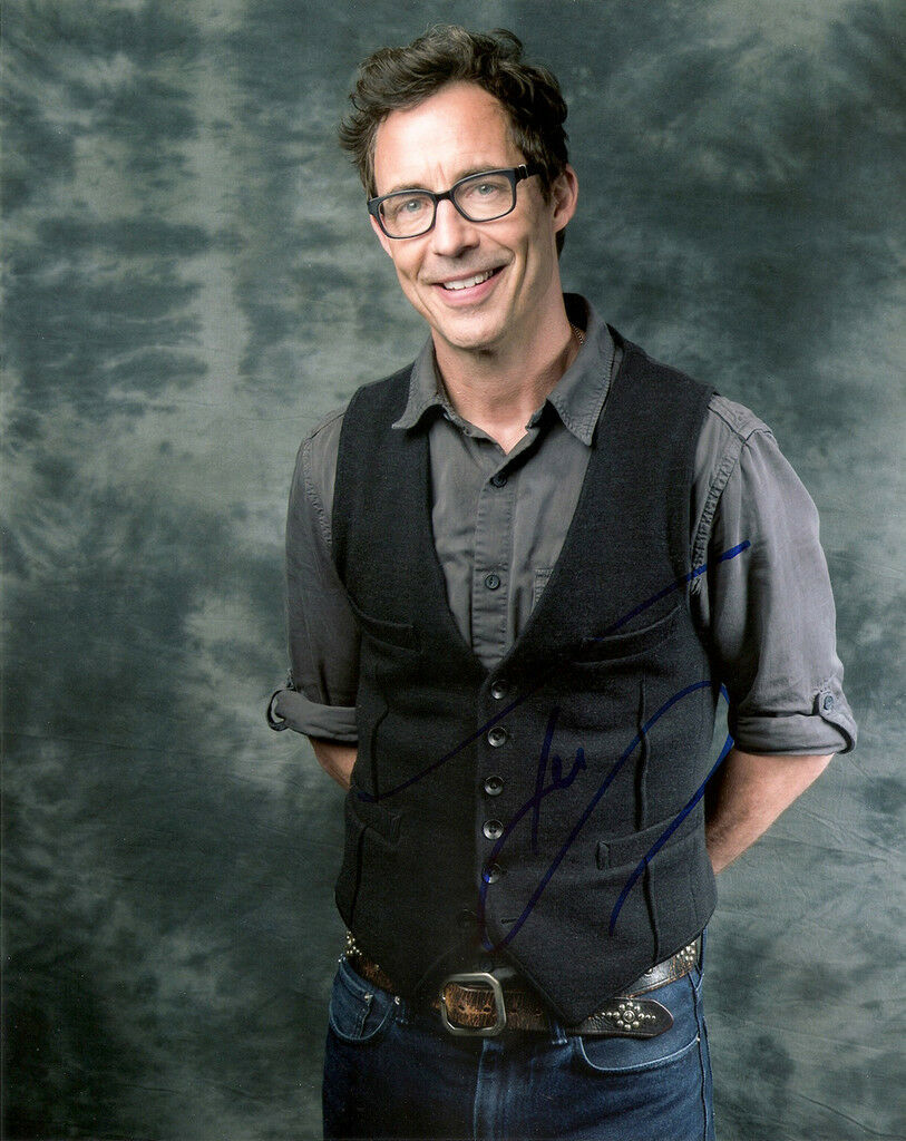 TOM CAVANAGH GENUINE Authentic Signed The Flash 10X8 Photo Aftal ...
