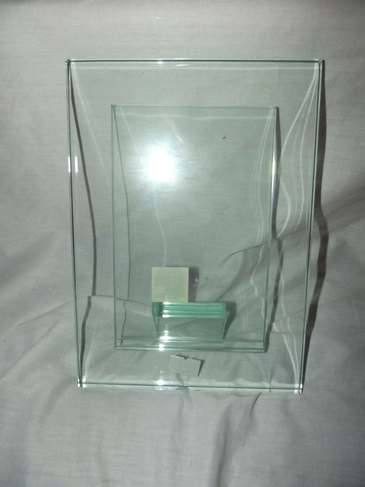 sixtrees glass picture frame 4 x 6 photos moda clear 8