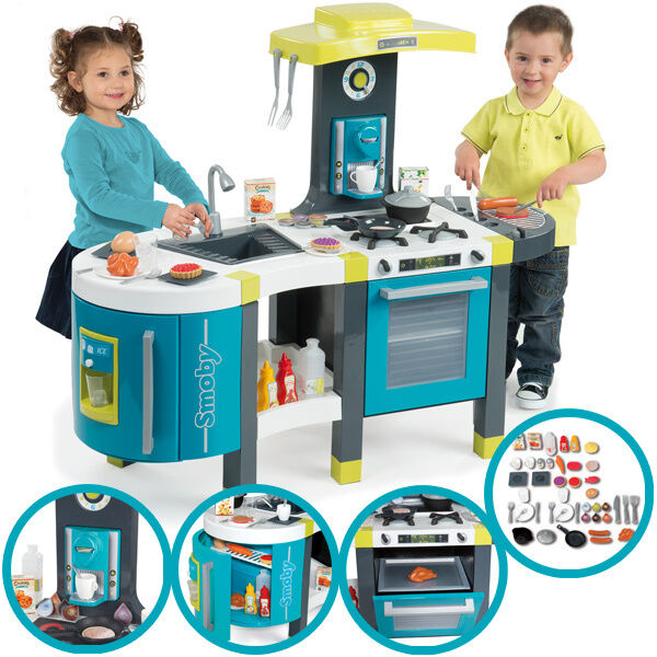 Smoby mini tefal elektronische kuche french touch for Smoby kinderküche