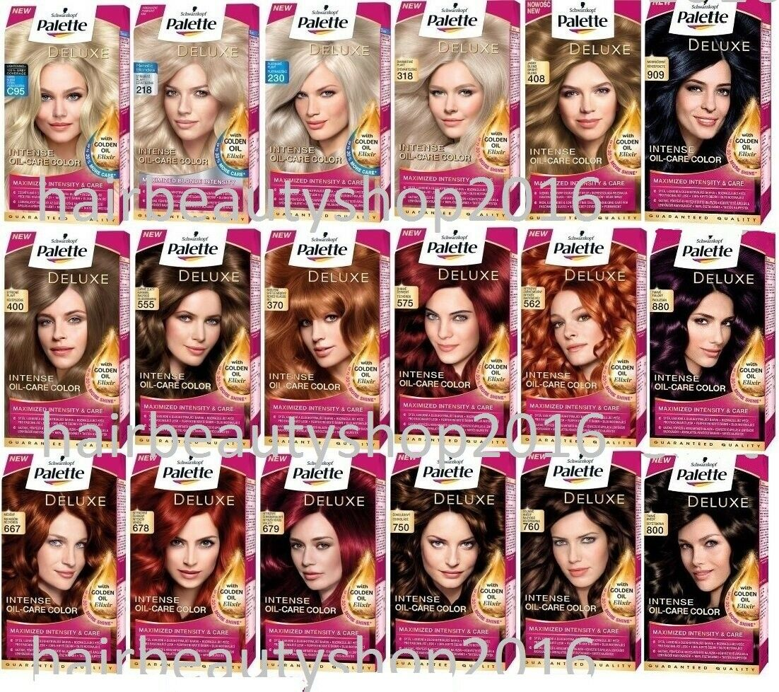 Palette deluxe color creme hair colour permanent hair dye 18 1 of 1 see more geenschuldenfo Choice Image