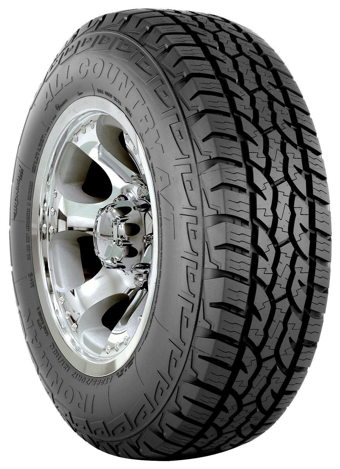 New Tire Tread Depth >> 1 NEW TIRE(S) 245/70R16XL Ironman All Country A/T 245/70/16 2457016