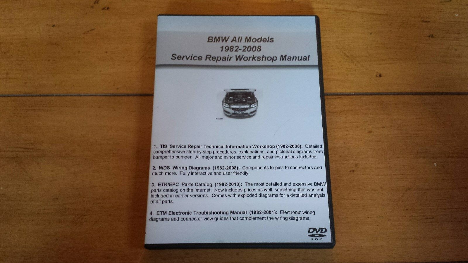 Bmw Tis Wds Etk Epc Service Shop Repair Manual Set Combo As Well Mini Cooper Wiring Diagram Further 2002 S 1 Of 3free Shipping