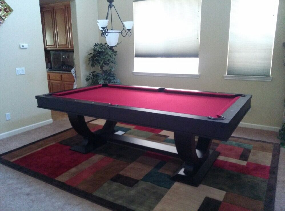 Monaco 8 39 Pool Table W Dining Top Conversion W Free