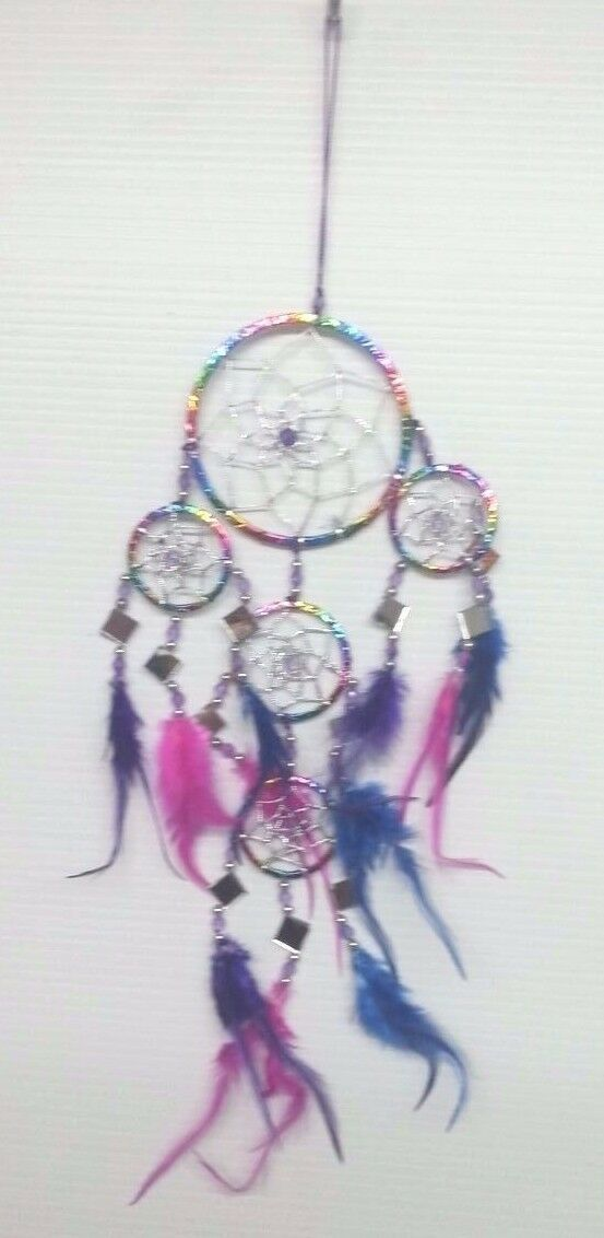 Whole Handmade Dream Catcher Colorfull Mirror Wall Hanging Free Ship 1 Of 5only 3 Available