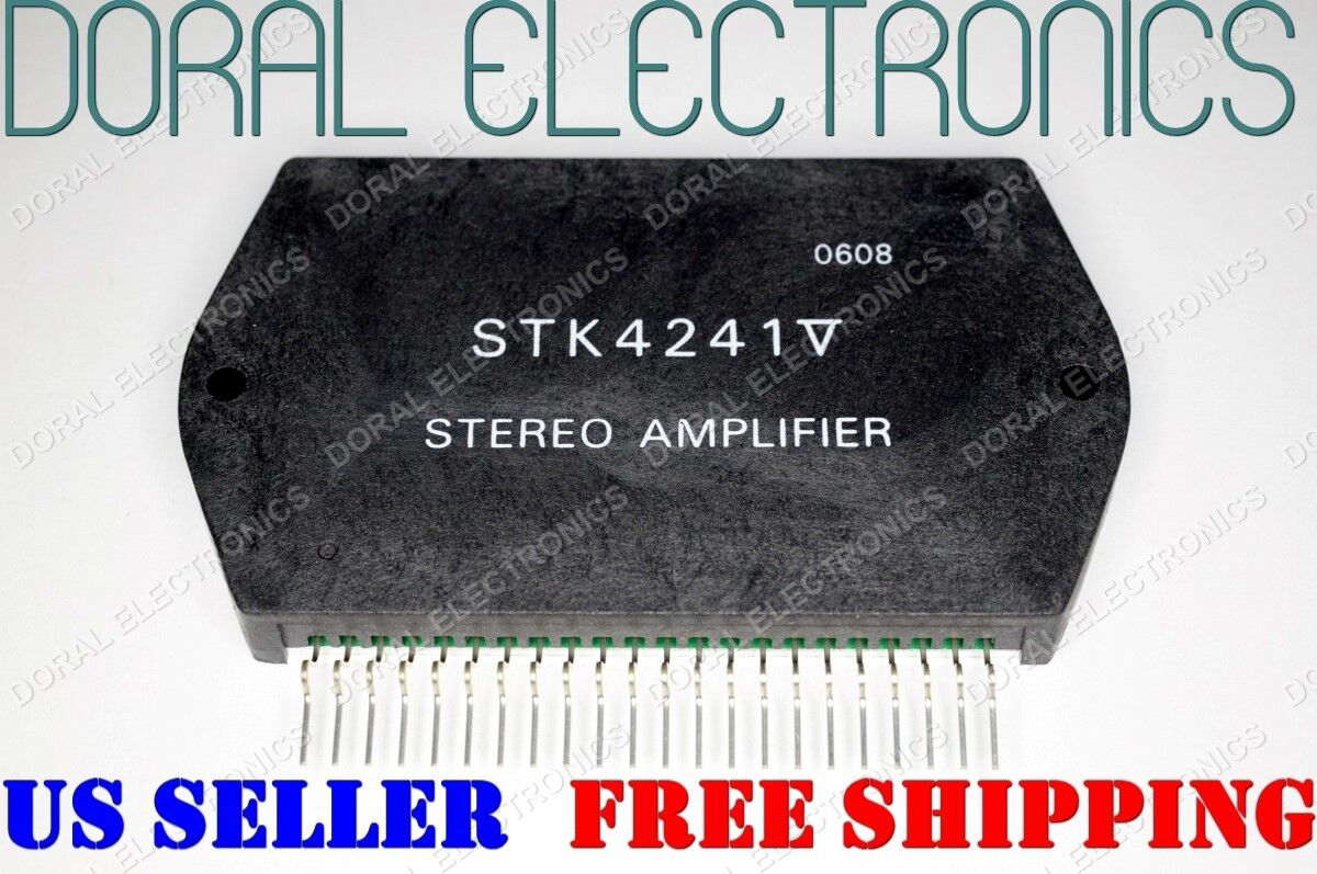 Stk4241v Free Shipping Us Seller Integrated Circuit Ic Stereo The Is Based Around Monolithic Linear Sanyo Amplifier 1 Of 1free See More
