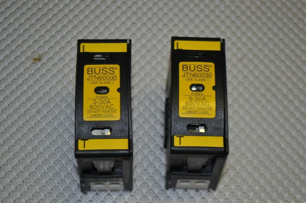 Lot Of 12 Cooper Bussmann Jtn60030 Fuse Holder 30 Amp 4900 Buss Box 1 1only Available See More