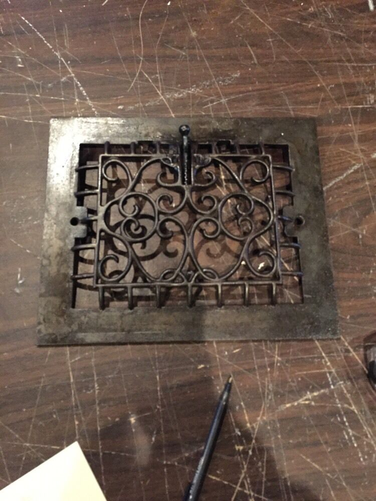 Tc 13 One Antique Cast-Iron Heating Great Refurbished
