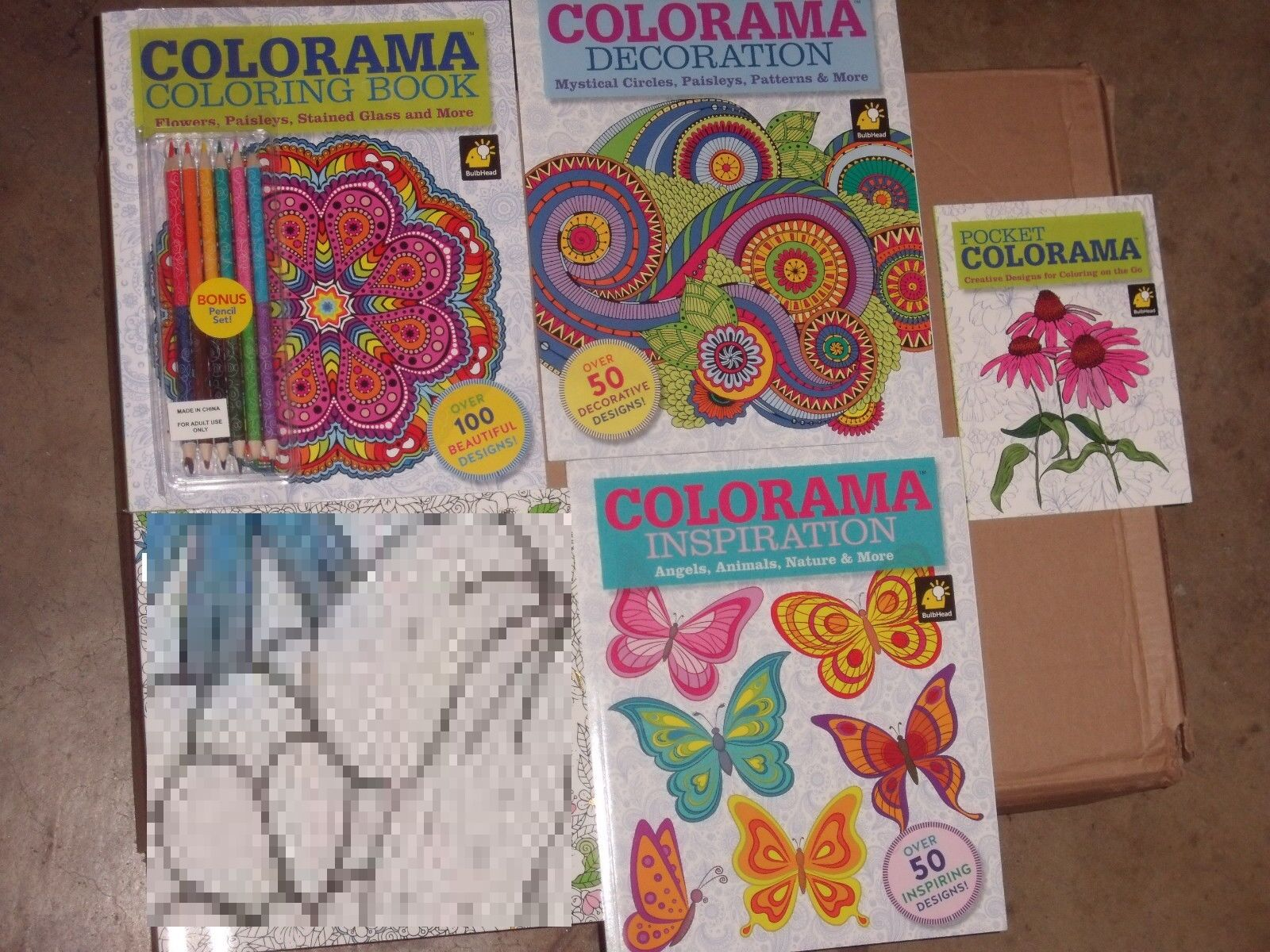 Colorama Adult Coloring Book Decoration Inspiration 12 Pencils Gift 1 Of 3Only 5 Available See More