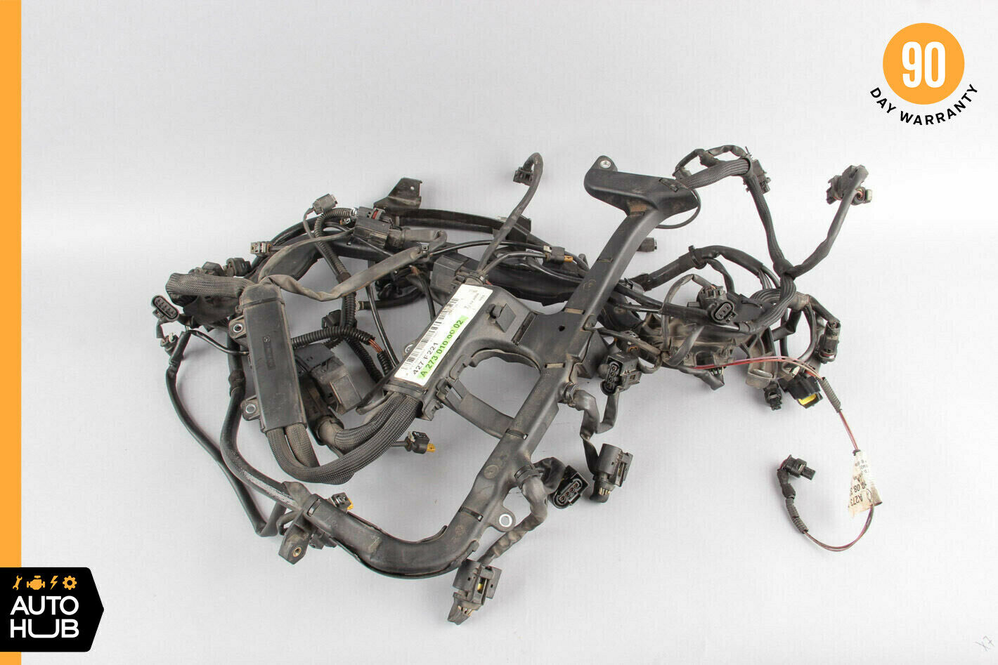 07-11 Mercedes W221 S550 CL550 Engine Motor Wiring Harness 5.5L M273  2730100002 1 of 11Only 2 available See More