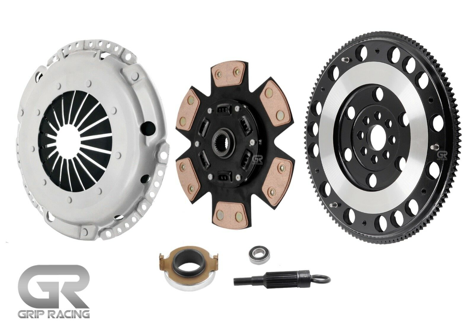 Grip Stage 3 Clutch Kit Forged Steel Flywheel Acura Tsx Honda Accord 1 Of 6free Shipping