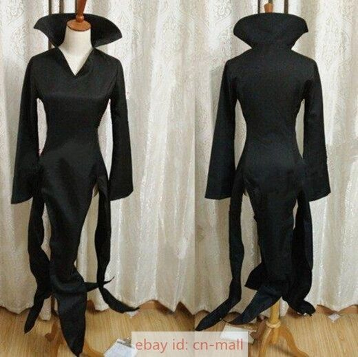 one punch man tatsumaki sexy black dress cosplay costume for halloween party