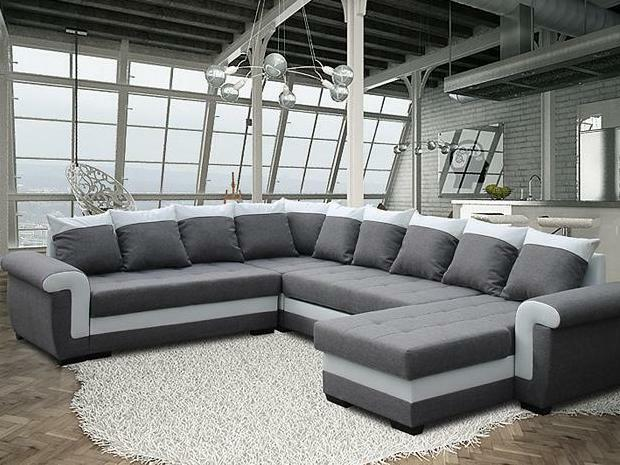 gro ecksofa ivett prim mit schlaffunktion eckcouch sofagarnitur modern 01 picclick uk. Black Bedroom Furniture Sets. Home Design Ideas