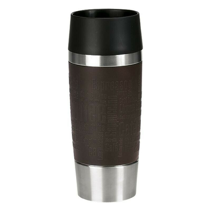 emsa travel mug thermobecher mit soft touch und quick. Black Bedroom Furniture Sets. Home Design Ideas