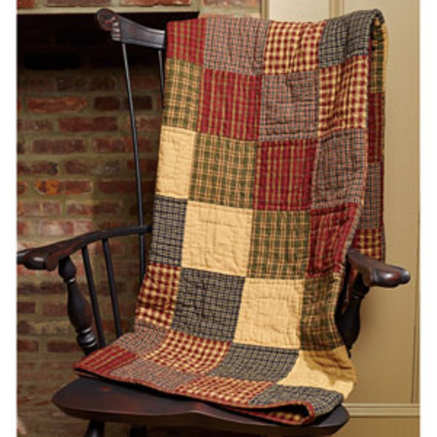 Primitive Country Rustic Rebbeccas Patchwork Farmhouse