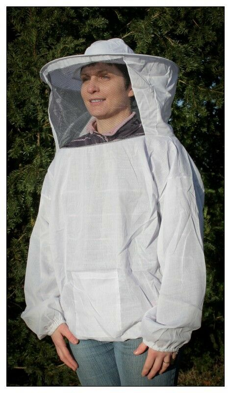 Lightweight top & veil, large, keep those insects at bay! Beekeeping jacket, NEW