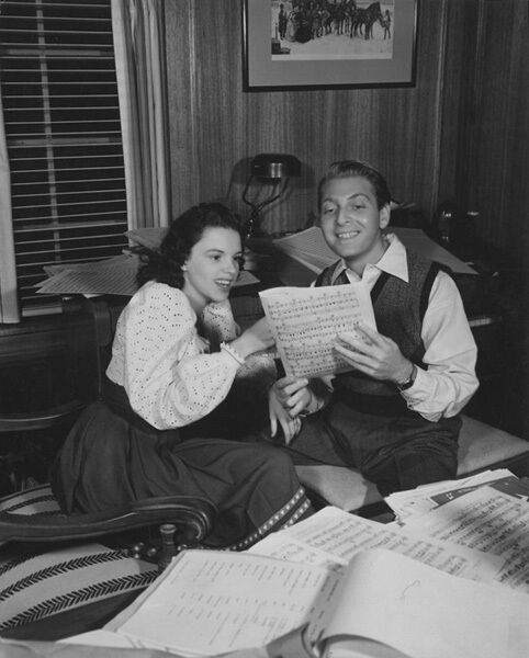 Image result for david rose and judy garland