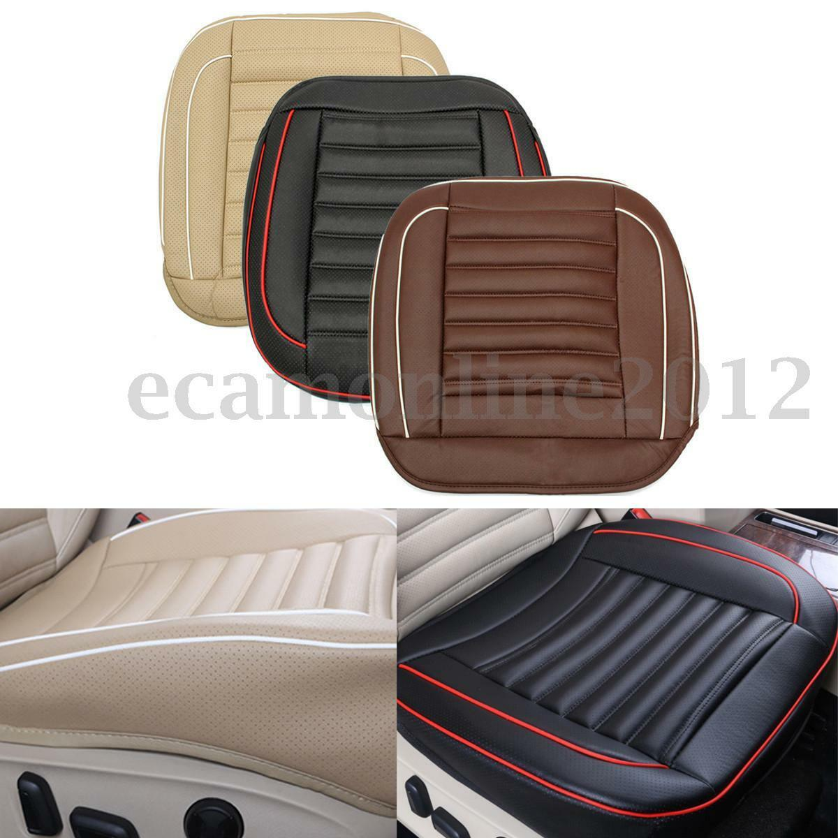 pu cuir voiture auto si ge chaise couverture pad coussin tapis housse protection eur 16 69. Black Bedroom Furniture Sets. Home Design Ideas