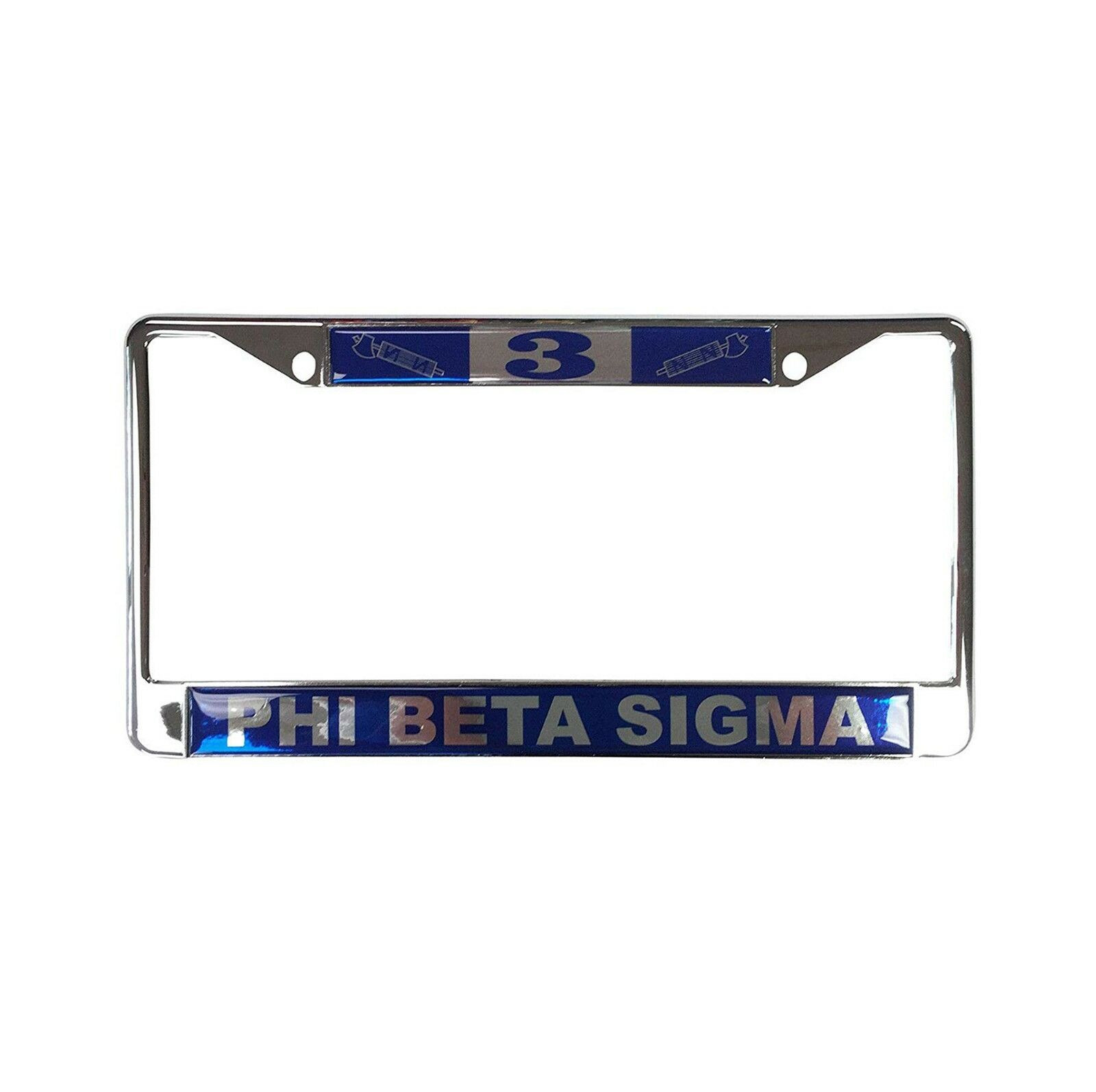 PHI BETA SIGMA #3 Line Number Silver License Plate Frame - $24.99 ...
