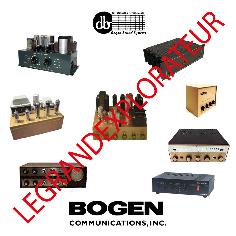 ultimate bogen david bogen repair service manual schematics 500 rh picclick com