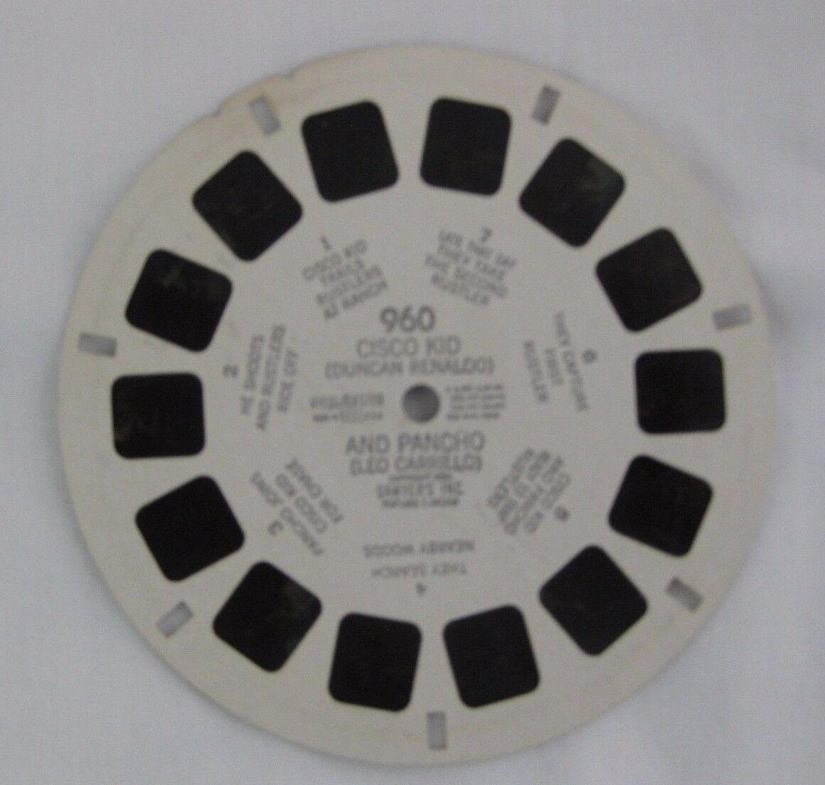 View Master Reel 960 Cisco Kid And Pancho 1 Of 1Only Available See More