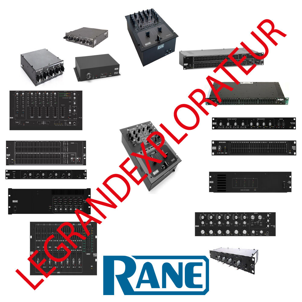 ultimate rane audio operation repair service manual schematics 435 rh picclick com HC6 AR HC6 Speedster