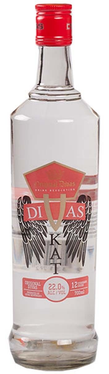 Divas 22% Grape Vodkat Vodka 700ml