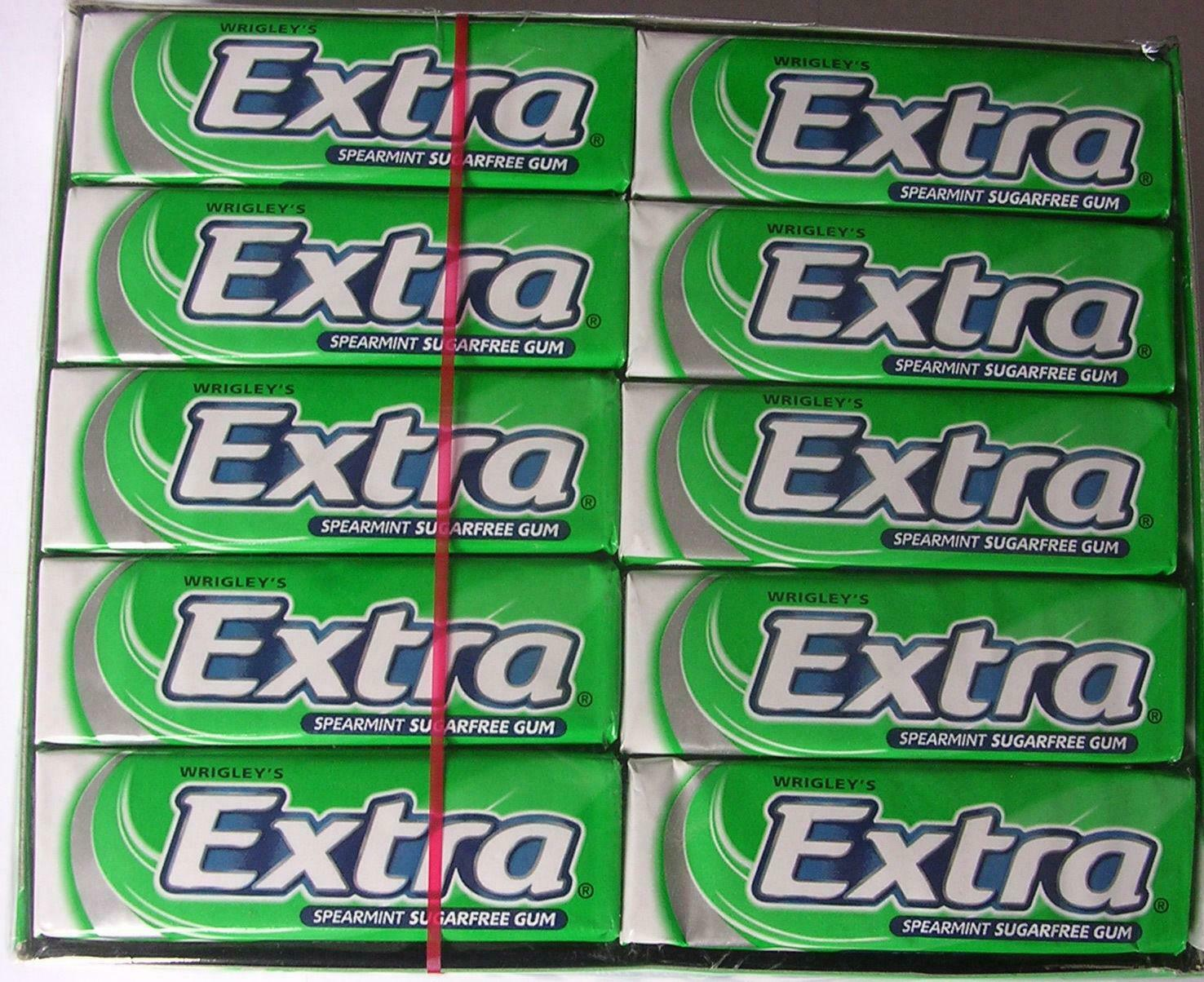 30 Extra Spearmint Chewing Gum