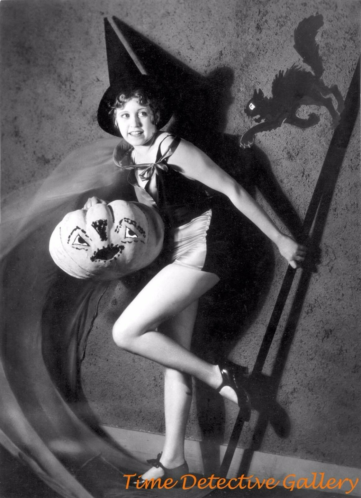 halloween pin-up colleen moore - vintage photo print - $10.00 | picclick