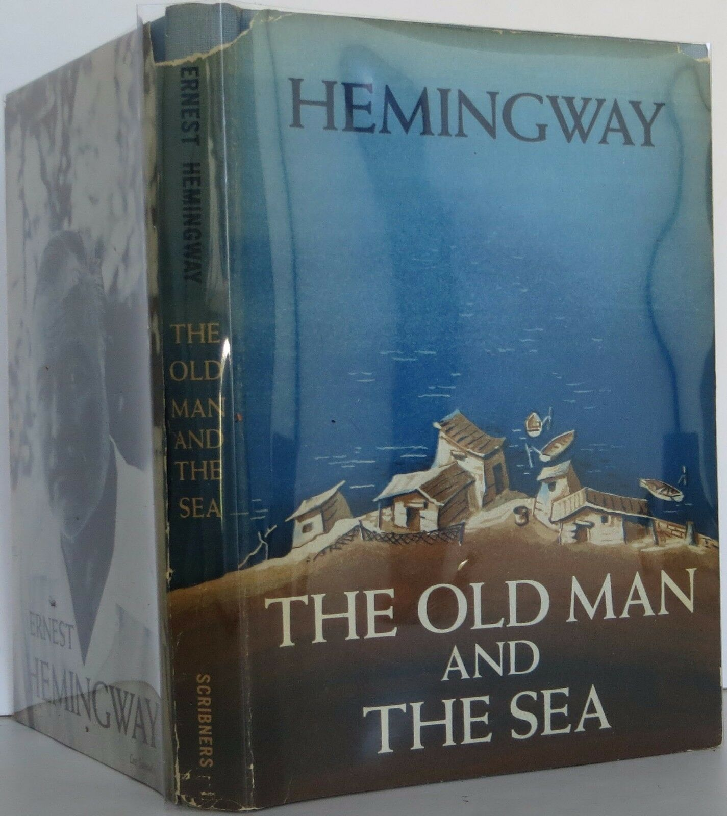 ernest hemmingways old man and the sea Ernest hemingway completes his short novel the old man and the seahe wrote his publisher the same day, saying he had finished the book and that it was the best writing he had ever done.