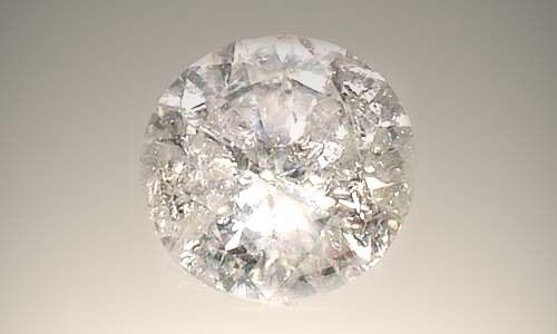 Antique 19thC Handcrafted 1¼ct Siberian Diamond Ancient Greece Tears of Gods