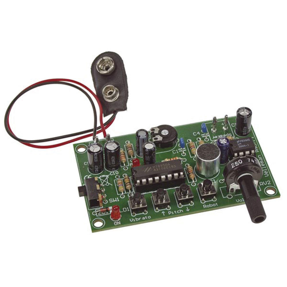 Velleman Mk171 Voice Changer Kit 949 Picclick Two Ic Am Radio With Training Course Model Am780k Electronic 1 Of See More