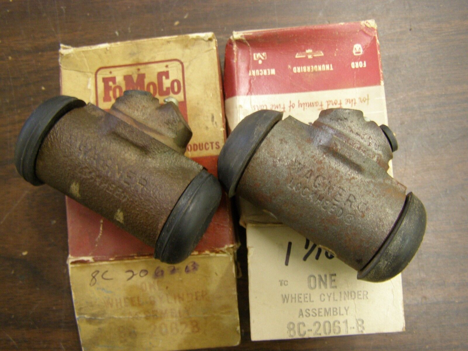 Nos Oem Ford 1948 1956 Truck Pickup Brake Wheel Cylinders 1955 Master Cylinder 1954 1953 1952 1 Of 6only Available