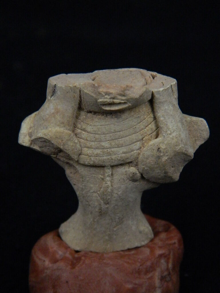 Ancient Teracotta Mother Goddess Torso Indus Valley 2000 BC No Reserve  #TR15244