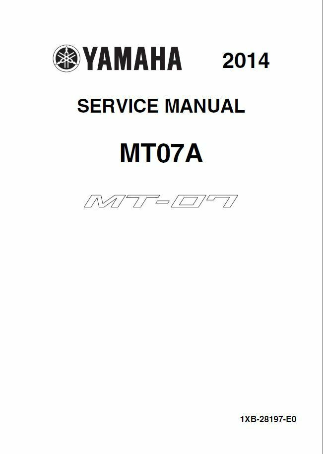 Yamaha Fz Service Manual